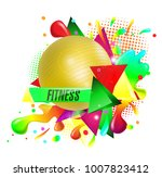 abstract background  text... | Shutterstock .eps vector #1007823412