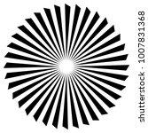 abstract propeller  fan element | Shutterstock .eps vector #1007831368