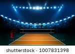 volleyball court arena field... | Shutterstock .eps vector #1007831398