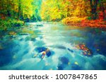 oil painting from photo  brush... | Shutterstock . vector #1007847865