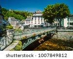 city of monschau  aachen ... | Shutterstock . vector #1007849812