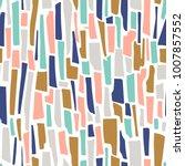 terrazzo seamless pattern.... | Shutterstock .eps vector #1007857552