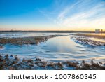 wintry landscape in the nature... | Shutterstock . vector #1007860345