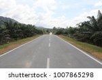 road to taman negra  malaysia  | Shutterstock . vector #1007865298