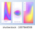 design templates for flyers ... | Shutterstock .eps vector #1007868508