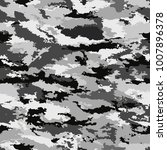 camouflage military background. ... | Shutterstock . vector #1007896378