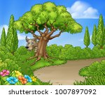 big bad wolf from the three... | Shutterstock .eps vector #1007897092