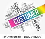 customer word cloud collage ... | Shutterstock .eps vector #1007898208