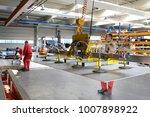 employees in a metalworking... | Shutterstock . vector #1007898922