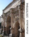 details of septimius severus...   Shutterstock . vector #1007899846