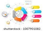 business labels infographic on... | Shutterstock .eps vector #1007901082