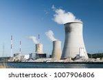 tihange nuclear power station... | Shutterstock . vector #1007906806