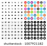 investment icons set | Shutterstock .eps vector #1007921182