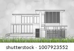 conceptual image of house... | Shutterstock .eps vector #1007923552