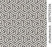 vector seamless stripes pattern.... | Shutterstock .eps vector #1007925106