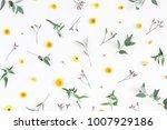 flowers composition. pattern... | Shutterstock . vector #1007929186