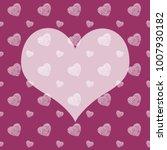 seamless monochrome pattern... | Shutterstock . vector #1007930182