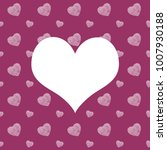 seamless monochrome pattern... | Shutterstock . vector #1007930188