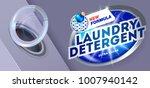 laundry detergent concept for... | Shutterstock .eps vector #1007940142