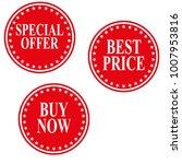 special offer  best price  buy...   Shutterstock .eps vector #1007953816