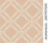beige and white geometric... | Shutterstock .eps vector #1007957035