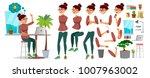 business woman character vector.... | Shutterstock .eps vector #1007963002