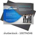 modern brochure design | Shutterstock .eps vector #100796548