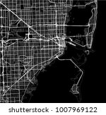 vector map of the city of miami ... | Shutterstock .eps vector #1007969122
