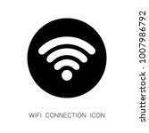 wifi internet connection sign.... | Shutterstock .eps vector #1007986792
