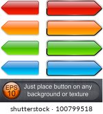 blank web buttons for website... | Shutterstock .eps vector #100799518