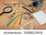 science and education   desktop ... | Shutterstock . vector #1008013918