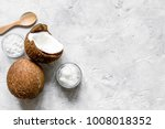 organic cosmetics concept with...   Shutterstock . vector #1008018352