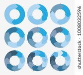 vector circle arrows for... | Shutterstock .eps vector #1008032596