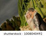 happy bride and groom   Shutterstock . vector #1008040492