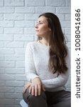 portrait of caucasian young...   Shutterstock . vector #1008041686