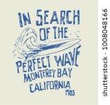 vector surf illustration text... | Shutterstock .eps vector #1008048166