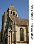 val d oise  the old church of... | Shutterstock . vector #100805122