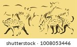this 3 color illustration... | Shutterstock . vector #1008053446