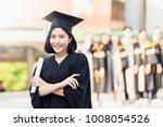 portrait beautiful asian... | Shutterstock . vector #1008054526