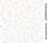 vector seamless endless pattern.... | Shutterstock .eps vector #1008054562