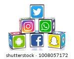 kiev  ukraine   nobember 27 ... | Shutterstock . vector #1008057172