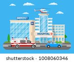 hospital building  medical icon.... | Shutterstock .eps vector #1008060346
