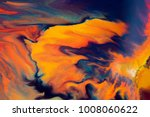 colorful paint background in... | Shutterstock . vector #1008060622