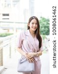 young asian business owner have ...   Shutterstock . vector #1008061462