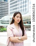 young asian business owner...   Shutterstock . vector #1008061516