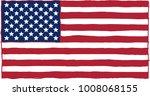 carelessly  hastily  painted... | Shutterstock . vector #1008068155
