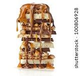 Tower Of Chocolate Caramel...