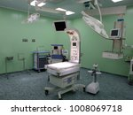 new operating room in a modern... | Shutterstock . vector #1008069718