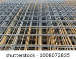 stacked of steel wire mesh for... | Shutterstock . vector #1008072835