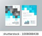 business brochure  flyer ... | Shutterstock .eps vector #1008088438